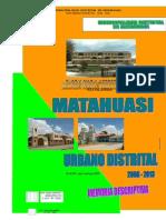 5 Diagnostico y Propuesta Urbana.matahuasi