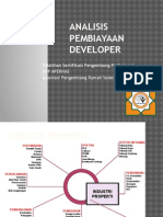 Analisis Pembiayaan Developer