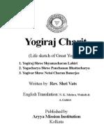 Yogiraj Charit by Rev. Shri Vats, English Translation