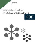 CPE Writing