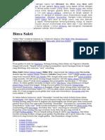 Galaksi Andromeda Dengan Nama Lain Messier 31