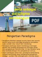 BAB 6 Pancasila Sebagai Paradigma Pembangunan