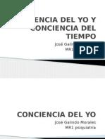 CONCIENCIA DEL YO Y DEL TIEMPO