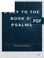 A Key to the Book of Psalms