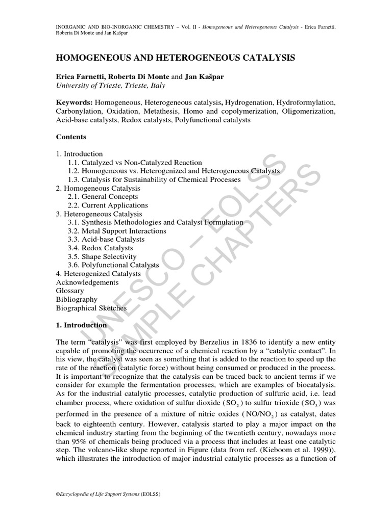 Worksheet 1 3 Reaction Mechanisms And Catalysis Breadandhearth