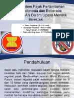 Analisis Sistem Pajak Pertambahan Nilai Di Indonesia Dan
