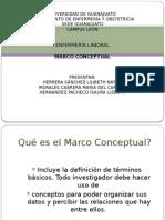 Marco Conceptual Enf. Laboral