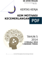 Kertas Kerja Kem Motivasi Tahun 5 2014