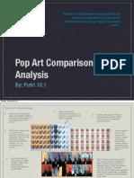 pop art comparison
