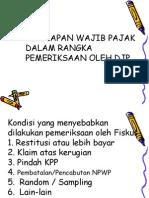 Persiapan Wajib Pajak dalam Rangka Pemeriksaan Oleh Djp