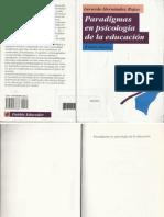 Paradigmas en Psicología de La Educación - Hernándes Rojas Gerardo