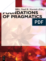 Foundations Of Pragmatics.pdf