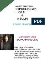 Oho & Insulin Wdf