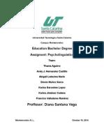 PSYCHOLINGUISTICS parcial2