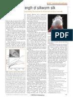 Surprising strength of silkworm silk.pdf