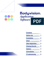 BC601 Software BodyVision SD Application(en) TANITA