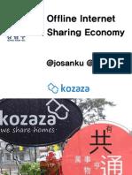 Offline Internet and Sharing Economy by KOZAZA 201501