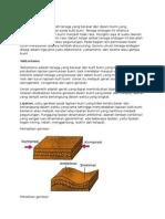 Tenaga Endogen Geologi Fisik