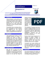 Guidelines for the Management of Uterine Leiomyoma 2009