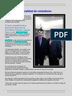 Notas en El Periodico El Norte y Grupo Reforma de Cp Hector Nava Ramos de Enero a Mayo Del 2014