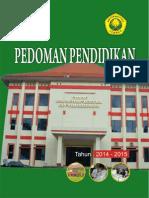 Buku Pedoman Pendidikan Universitas Jember Th_Akad_14_15