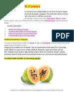 The Health Benefits of Papaya.doc