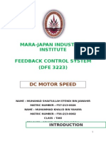 Full Report Motor Speed