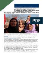 2 Most Palestinians Restrain Themselves Despite Israels Plunder