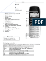 Siemens Gigaset A490 A495 IP Phone User Guide