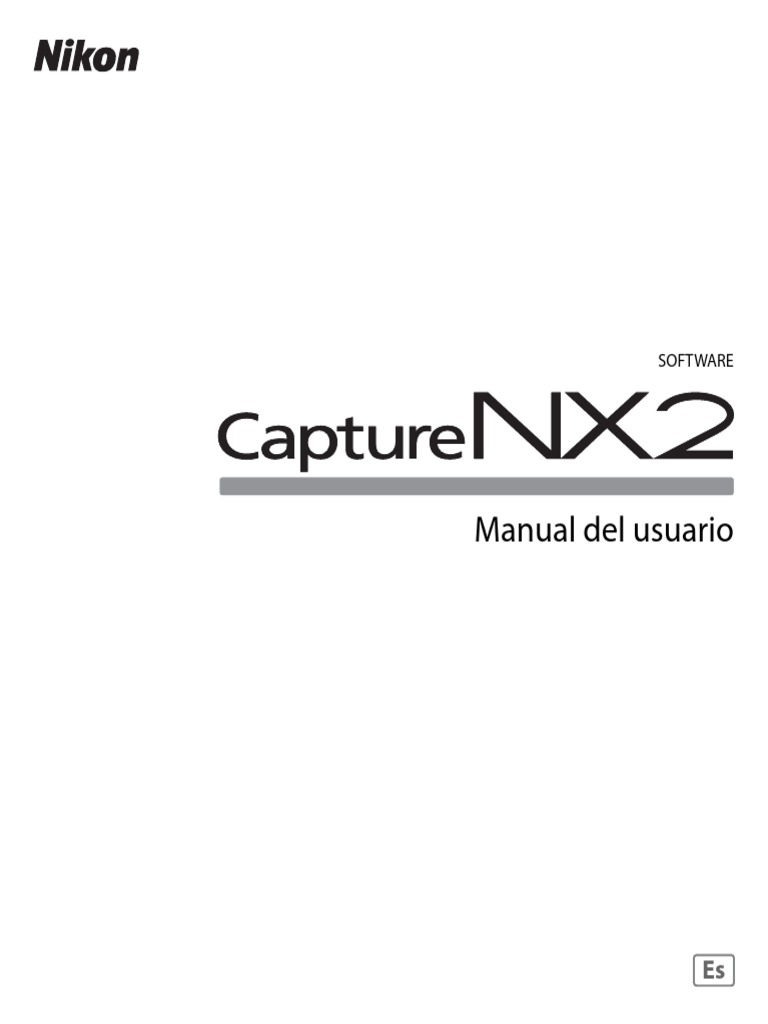 Manual Nikon Capture NX 2