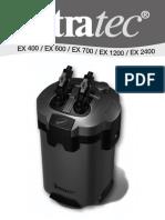 Manual Tetratec EX 2008 TH50447
