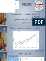 Conservative Treatment of Obesity in Patients With T2DM