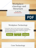 8th Lecture Workplace Technology and Structure (1)