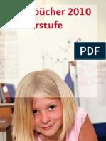 Schulbuchverzeichnis Primar 2010