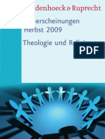 Vorschau 2/09 Theologie - Vandenhoeck & Ruprecht