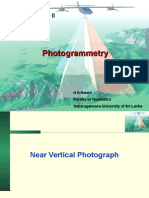 Different Formula for Near Vertical Photograph