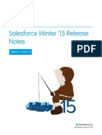 Salesforce Winter15 Release Notes
