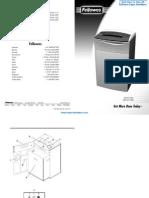 Fellowes Powershred C-220 Commercial Paper Shredder - FEL38221