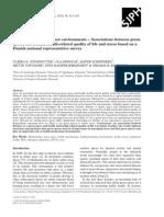 Health promoting outdoor environments - Scandinavian Journal of Public Health