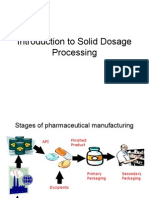 Solid Dosage Processing