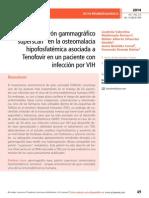 """Patrón gammagráfico """"superscan"""" en la osteomalacia hipofosfatémica asociada a Tenofovir en un paciente con infección por VIH"""