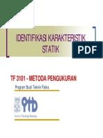 Identifikasi Karakter Statik