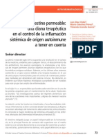 Síndrome del intestino permeable