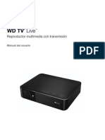 WD TV Live Manual del usuario