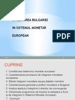 Integrarea Bulgariei- Studiu de Caz