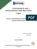 Medición Resistividad de suelo y Dimensionamiento Malla Baja Tensión Colpita.pdf
