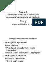 Curs Nr. 8 Etica Si Responsabilitate Sociala
