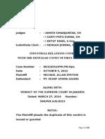Putusan Mahkamah Agung Nomor 56.Pdt.sus.2013__michael Allan Epstein