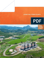 Liquid Fuel Power Plants 2013