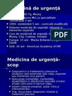 istoric medicina de urgenta